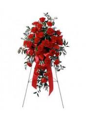 (mr957) Kırmızı Ferforje Aranjman