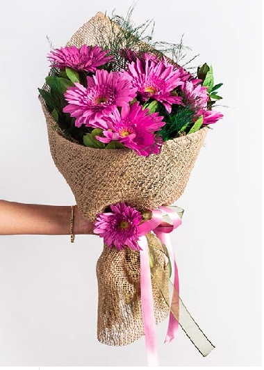 (mr4163) Gerbera Buketi