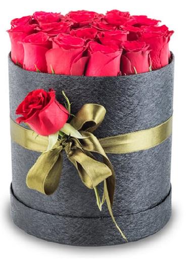 (mr167) Kutuda Kırmızı güller